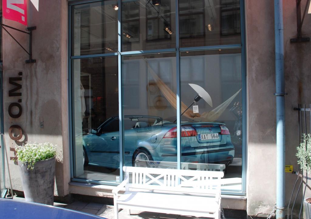 Saab Preform Skyltfönster