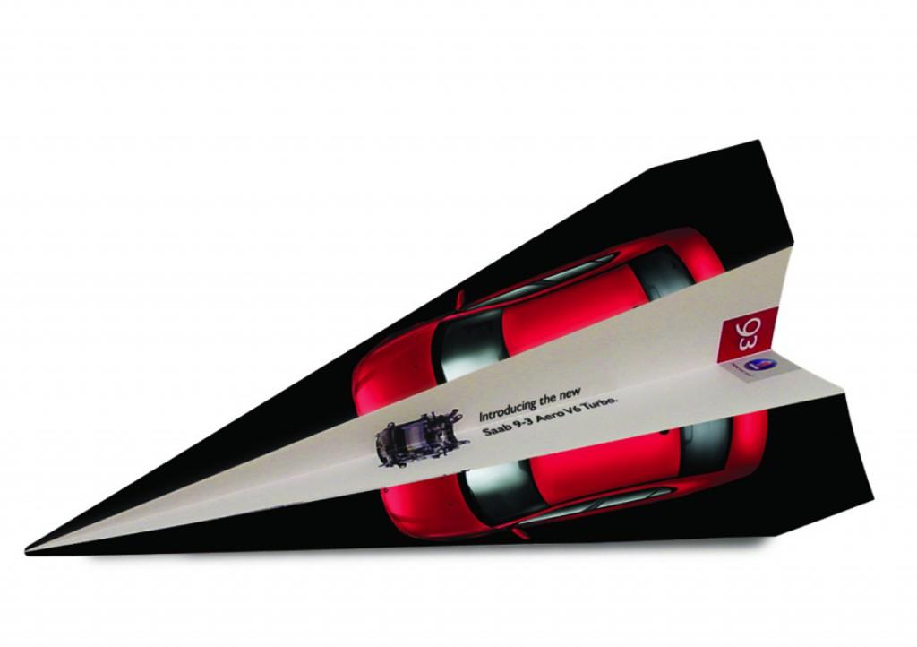 Saab Jet Paperplane