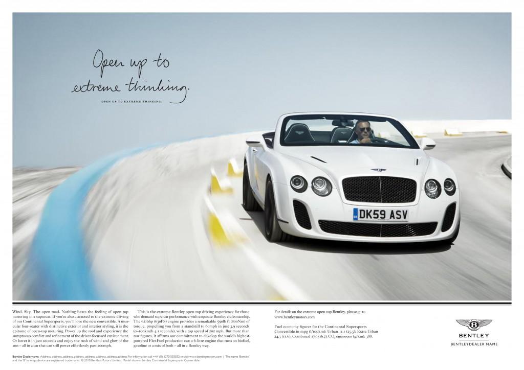 Bentley Supersport Cab
