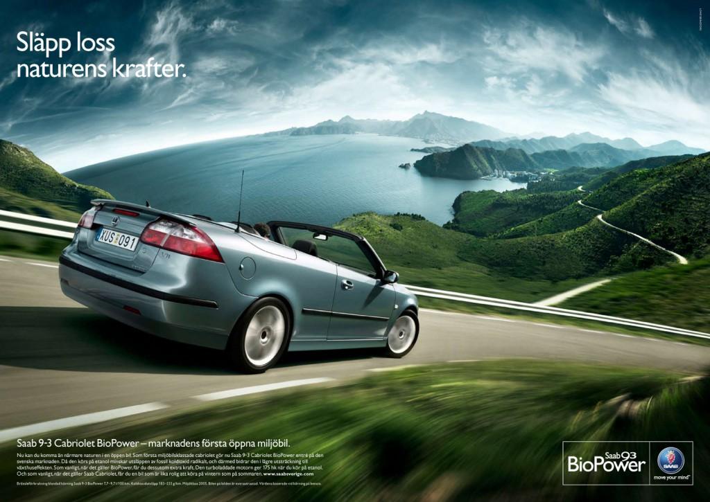 Saab BioPower Cab