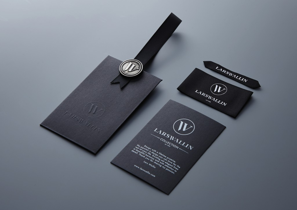 Lars Wallin label and hangtags